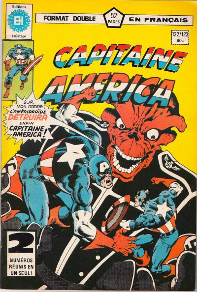 Cover for Capitaine America (Editions Héritage, 1970 series) #122/123