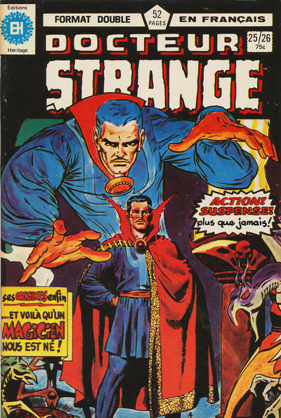 Cover for Docteur Strange (Editions Héritage, 1979 series) #25/26