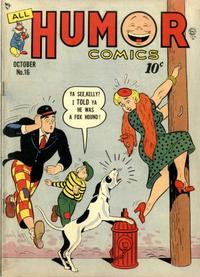 Cover Thumbnail for All Humor Comics (Quality Comics, 1946 series) #16