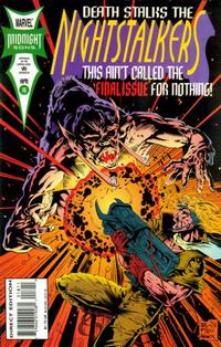 Cover Thumbnail for Nightstalkers (Marvel, 1992 series) #18