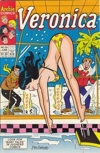 Cover Thumbnail for Veronica (Archie, 1989 series) #28