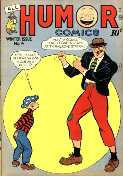 Cover for All Humor Comics (Quality Comics, 1946 series) #4