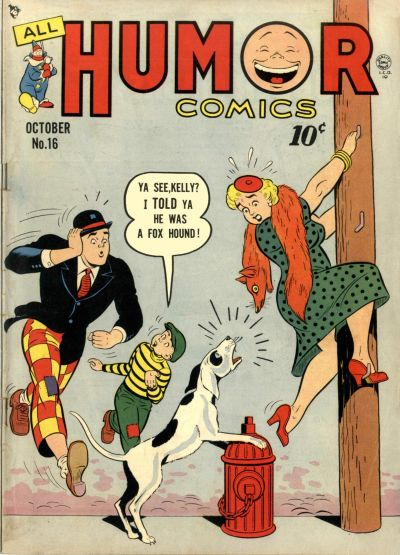 Cover for All Humor Comics (Quality Comics, 1946 series) #16