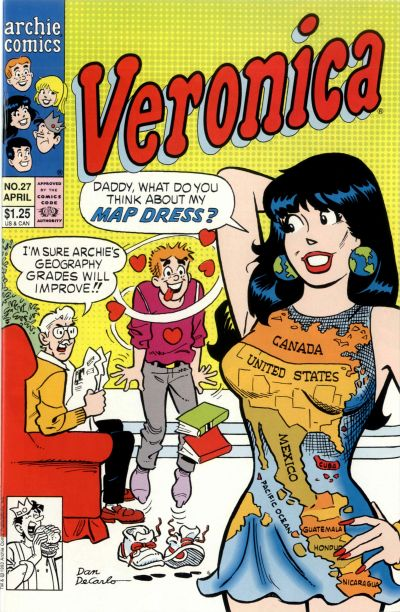 Cover for Veronica (Archie, 1989 series) #27