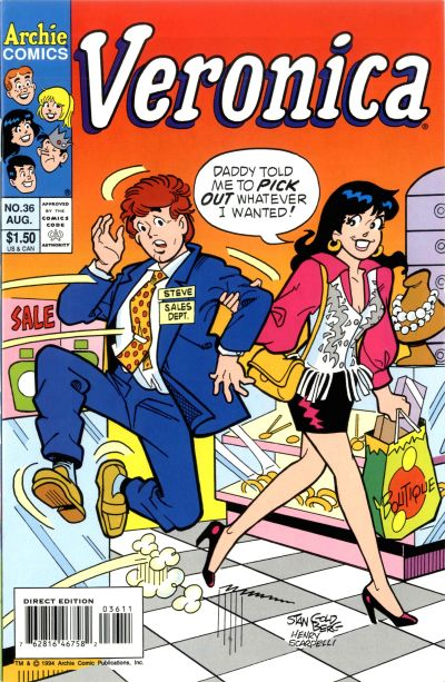 Cover for Veronica (Archie, 1989 series) #36