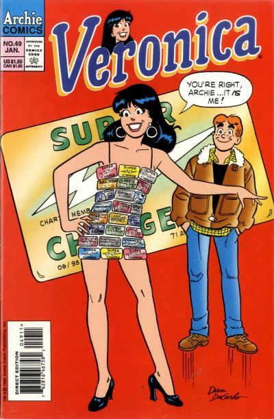 Cover for Veronica (Archie, 1989 series) #49