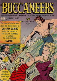 Cover Thumbnail for Buccaneers (Quality Comics, 1950 series) #25