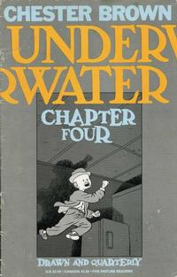 Cover Thumbnail for Underwater (Drawn & Quarterly, 1994 series) #4
