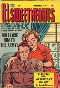 Cover Thumbnail for G.I. Sweethearts (Quality Comics, 1953 series) #41