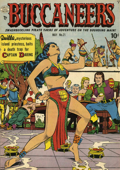 Cover for Buccaneers (Quality Comics, 1950 series) #21
