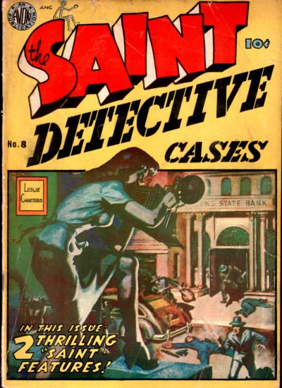Cover for The Saint (Avon, 1947 series) #8