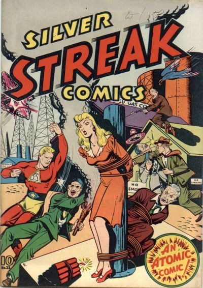 Cover for Silver Streak Comics (Lev Gleason, 1939 series) #23