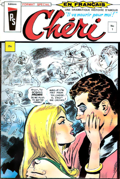 Cover for Chéri (1972 series) #1