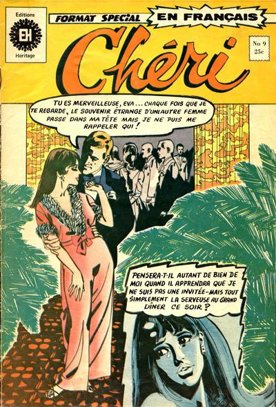 Cover for Chéri (1972 series) #9