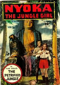 Cover for Nyoka the Jungle Girl (1945 series) #35