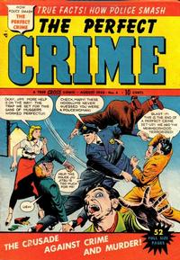 Cover Thumbnail for The Perfect Crime (Cross Publications, 1949 series) #4