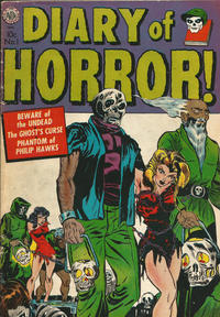 Cover Thumbnail for Diary of Horror (Avon, 1952 series) #1