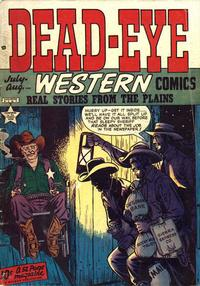 Cover Thumbnail for Dead-Eye Western Comics (Hillman, 1948 series) #v1#5