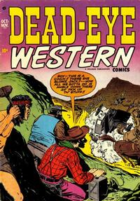 Cover Thumbnail for Dead-Eye Western Comics (Hillman, 1948 series) #v2#10