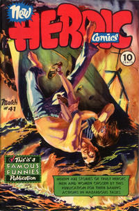 Cover Thumbnail for New Heroic Comics (Eastern Color, 1946 series) #41