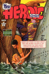 Cover for New Heroic Comics (1946 series) #64