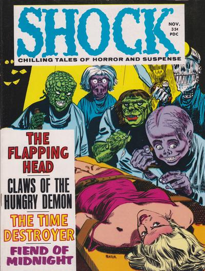 Cover for Shock (Stanley Morse, 1969 series) #v1#4
