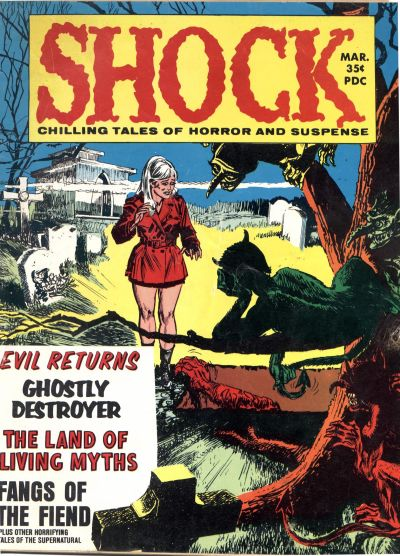 Cover for Shock (Stanley Morse, 1969 series) #v1#6