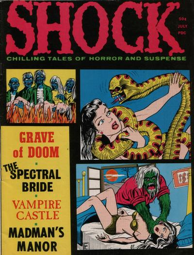 Cover for Shock (Stanley Morse, 1969 series) #v3#3
