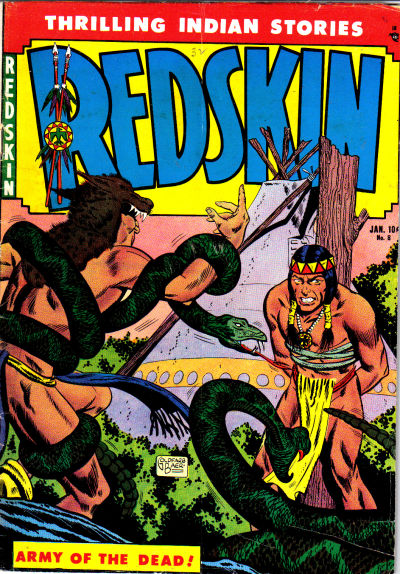 Cover for Redskin (Youthful, 1950 series) #8