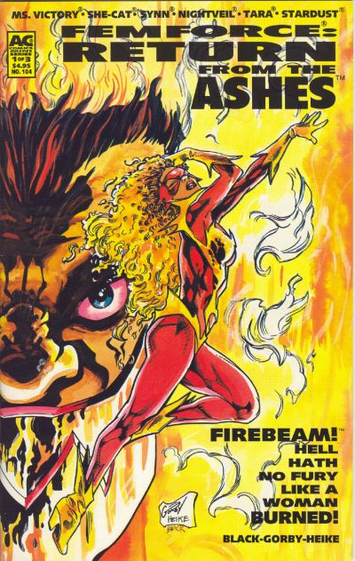 Cover for FemForce (1985 series) #104