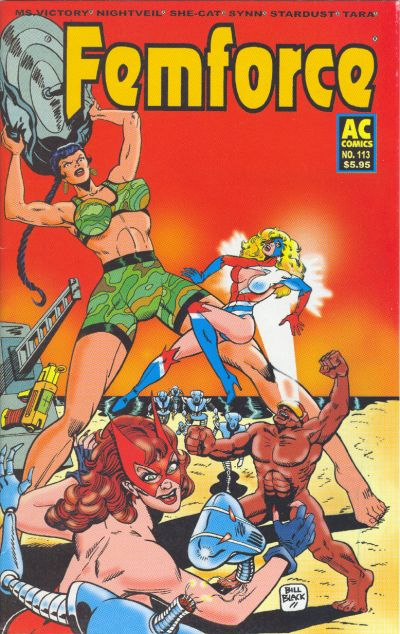 Cover for FemForce (AC, 1985 series) #113