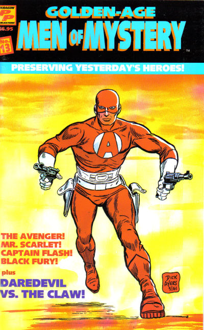 Cover for Golden-Age Men of Mystery (AC, 1996 series) #13