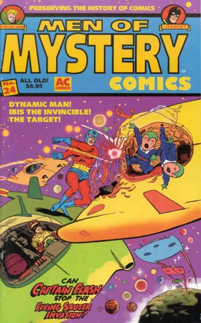 Cover for Men of Mystery Comics (AC, 1999 series) #24