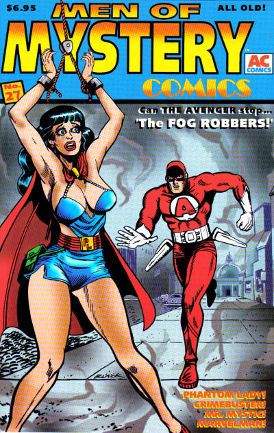 Cover for Men of Mystery Comics (1999 series) #27
