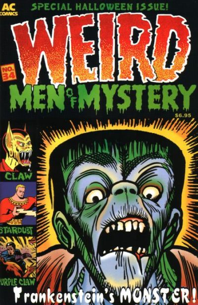 Cover for Men of Mystery Comics (1999 series) #34