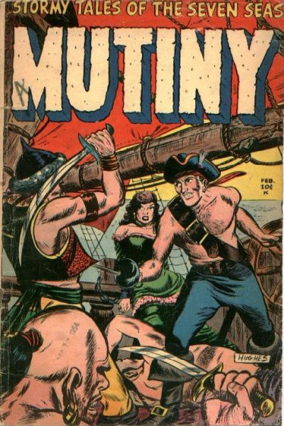 Cover for Mutiny (1954 series) #3