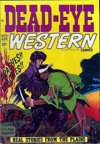 Cover for Dead-Eye Western Comics (1948 series) #v2#6