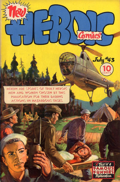 Cover for New Heroic Comics (1946 series) #43