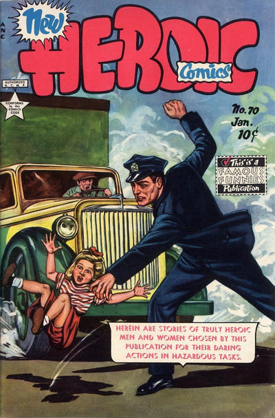 Cover for New Heroic Comics (Eastern Color, 1946 series) #70
