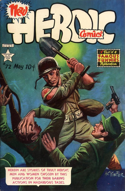 Cover for New Heroic Comics (1946 series) #72