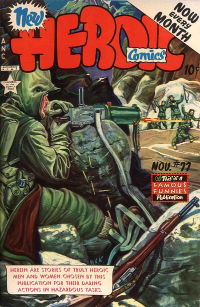 Cover for New Heroic Comics (Eastern Color, 1946 series) #77