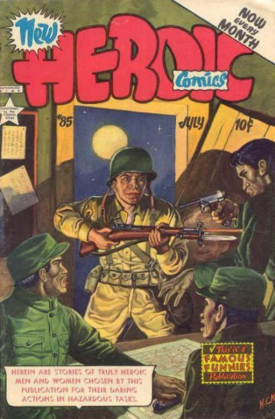 Cover for New Heroic Comics (1946 series) #85