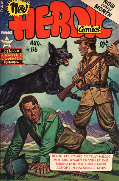 Cover for New Heroic Comics (Eastern Color, 1946 series) #86