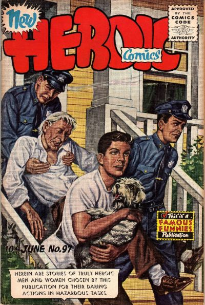 Cover for New Heroic Comics (Eastern Color, 1946 series) #97