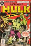 Cover for L' Incroyable Hulk (Editions Héritage, 1968 series) #65