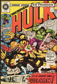Cover Thumbnail for L' Incroyable Hulk (Editions Héritage, 1968 series) #29