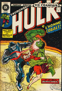 Cover Thumbnail for L' Incroyable Hulk (Editions Héritage, 1968 series) #33