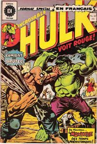 Cover Thumbnail for L' Incroyable Hulk (Editions Héritage, 1968 series) #38