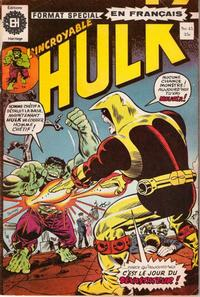 Cover Thumbnail for L' Incroyable Hulk (Editions Héritage, 1968 series) #45