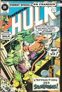 Cover Thumbnail for L' Incroyable Hulk (Editions Héritage, 1968 series) #53